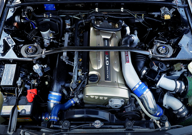 Nur RB26 TWINTURBO ENGINE.