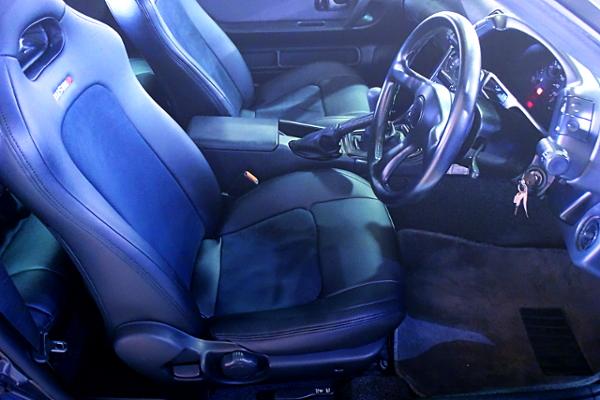 INTERIOR OF R32 GT-R NISMO.