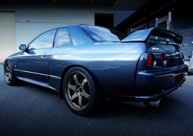 REAR EXTERIOR OF R32 GT-R NISMO.