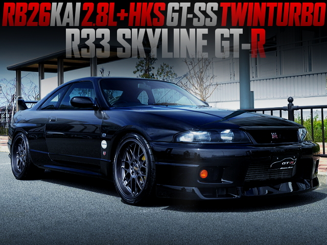 RB26KAI 2.8L With GT-SS TWINTURBO INTO R33 GT-R.