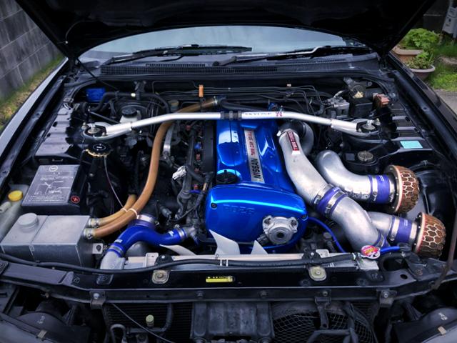 RB26DETT TWINTURBO ENGINE OF R33 GT-R MOTOR.