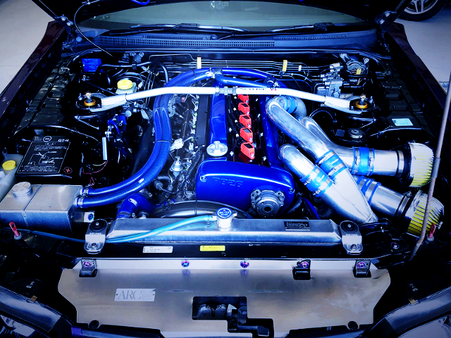 DIRECT IGNITION OF RB26DETT TWINTURBO ENGINE.