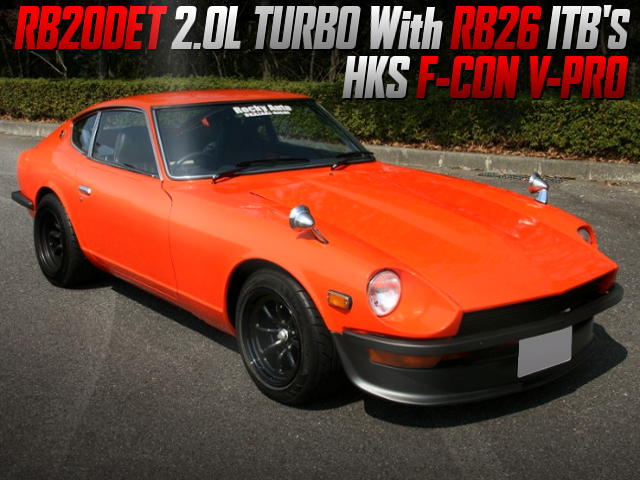 RB26 ITB'S ONTO RB20DET SWAPPED S30 FAIRLADY Z.
