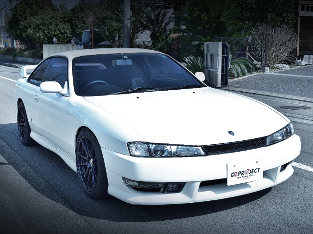 FRONT EXTERIOROF S14 SILVIA SERIES-2.