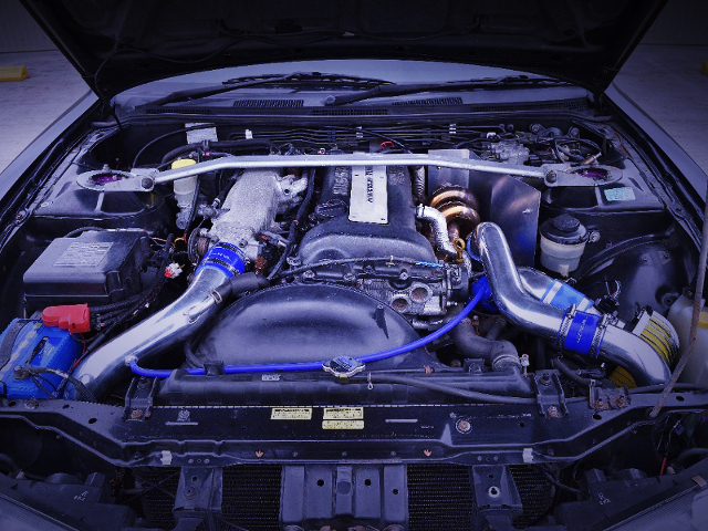 SR20DET TURBO ENGINE OF S14 MOTOR.