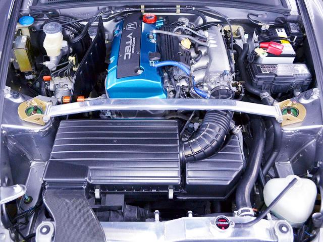 J'S RACING F20C VTEC COMPLETE ENGINE.