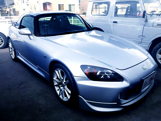 FRONT EXTERIOR OF AP1 S2000 SILVER.