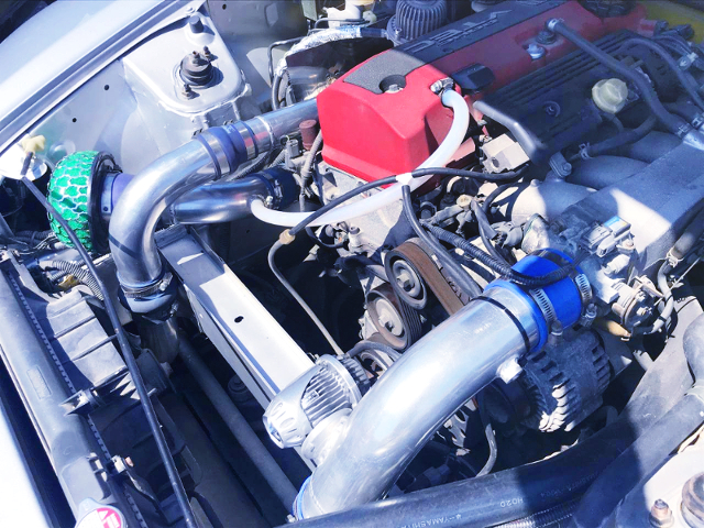 F20C KAI VTEC TURBO ENGINE With BLOW OFF VALVE.