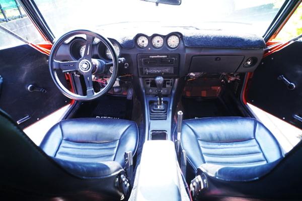 S30 DATSUN 280Z INTERIOR.