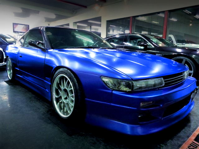 FRONT EXTERIOR OF SILEIGHTY MODIFIED 180SX