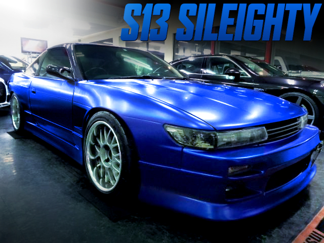 S13 SILVIA FRONT END CONVERSION TO 180SX TYPE-X OF SILEIGHTY MODIFIED.