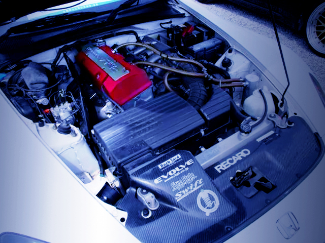 SPOON F22C VTEC COMPLETE ENGINE.