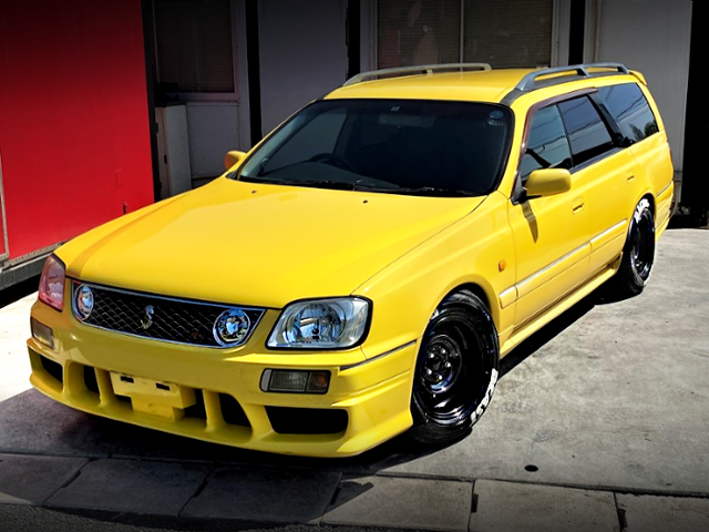 FRONT EXTERIOR OF WC34 KOUKI STAGEA TO YELLOW.