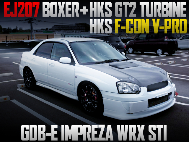 GT2 TURBINE AND F-CON V-PRO WITH GDB-E IMPREZA WRX STI.