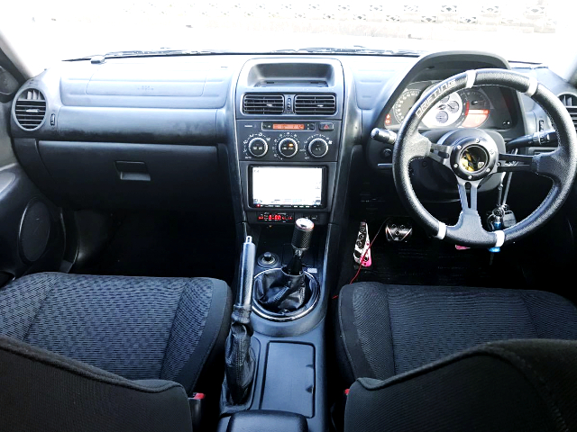 INTERIOR OF ALTEZZA RS200.