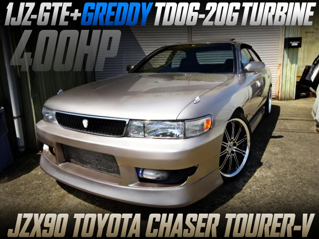 TD06-20G AND F-CON V-PRO With JZX90 CHASER TOURER-V TO GOLD.