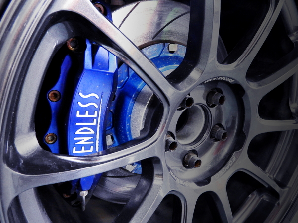 ENDLESS BRAKE CALIPER INSTALLED TOYOTA 86GT LTD.