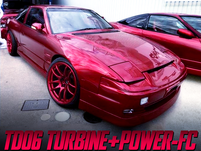 SR20DET With TD06 TURBO AND POWER-FC INTO 180SX.