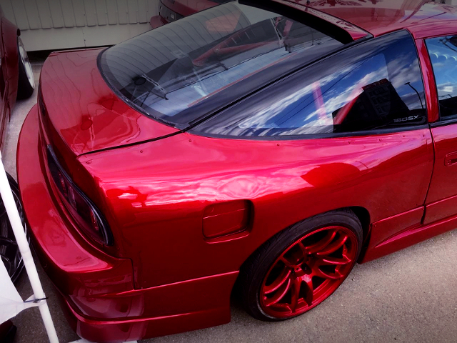 REAR WIDE FENDER OF 180SX.