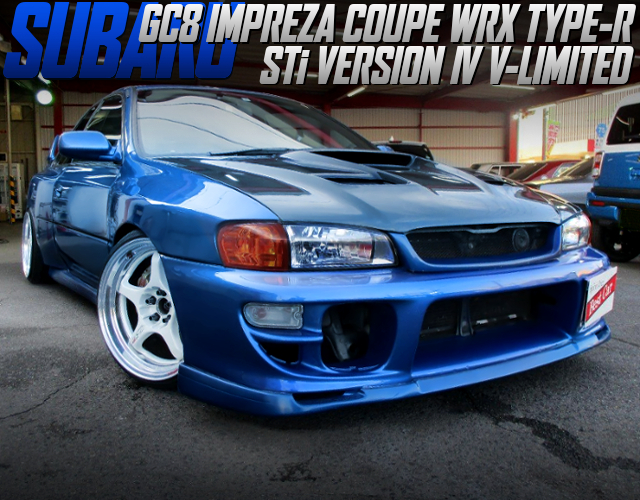 22B STYLE WIDEBODY INSTALLED GC8 IMPREZA COUPE WRX TYPE-R STi Ver V-LTD.