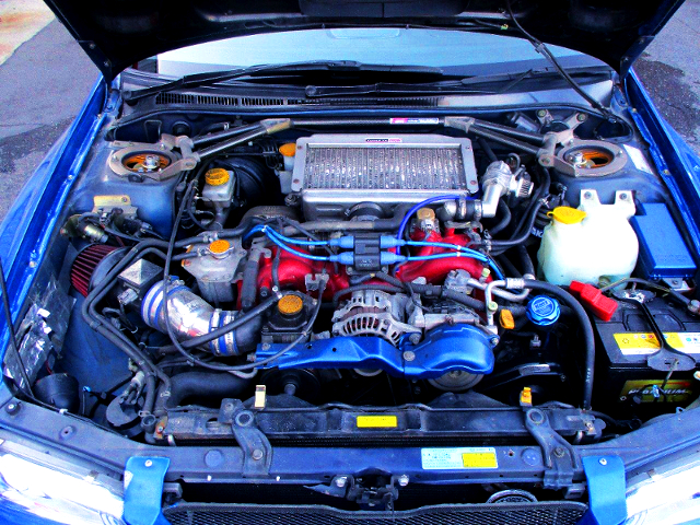 EJ20 BOXER TURBO ENGINE OF GC8 IMPREZA COUPE WRX TYPE-R STi Ver V-LTD MOTOR.