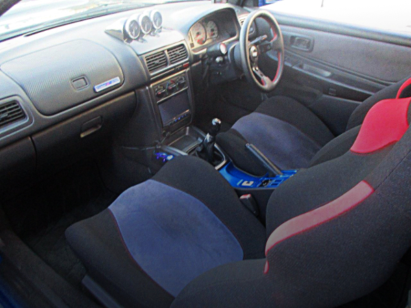 INTERIOR OF GC8 IMPREZA COUPE WRX TYPE-R STi Ver V-LTD.
