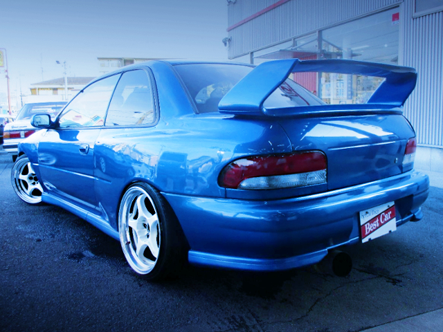 REAR EXTERIOR OF GC8 IMPREZA COUPE WRX TYPE-R STi Ver V-LTD.