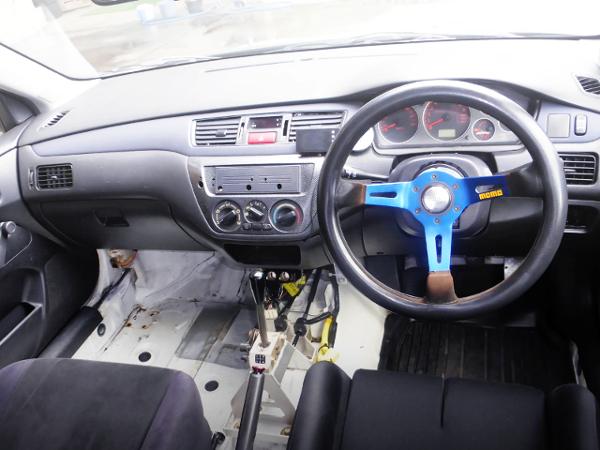 EVO 8 RS DASHBOARD.