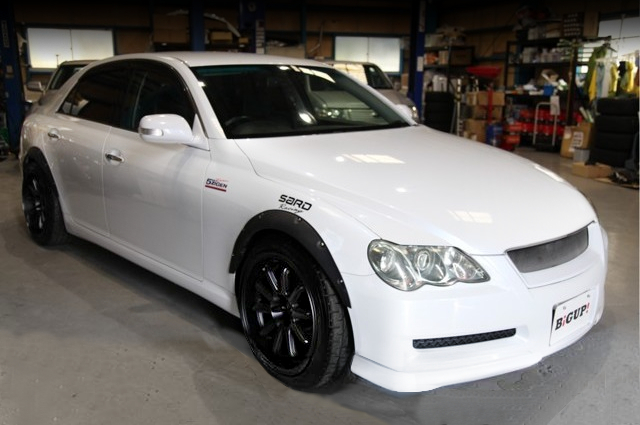 FRONT EXTERIOR GRX121 TOYOTA MARK-X.