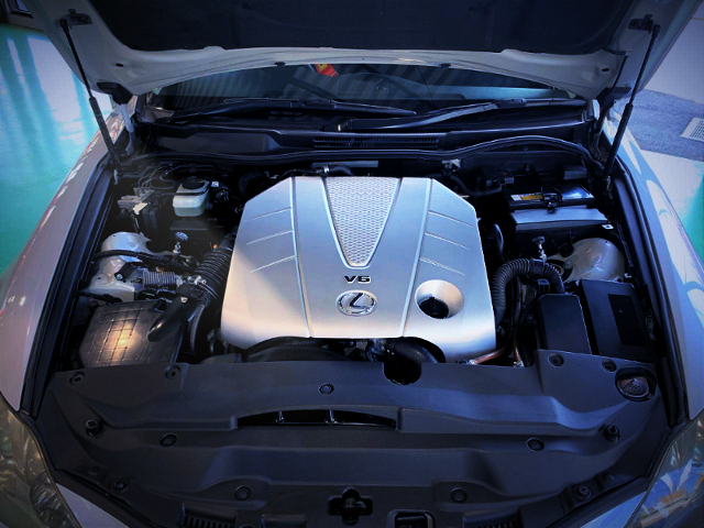 2GR-FSE 3500cc V6 ENGINE OF GSE21 LEXUS IS350 MOTOR.