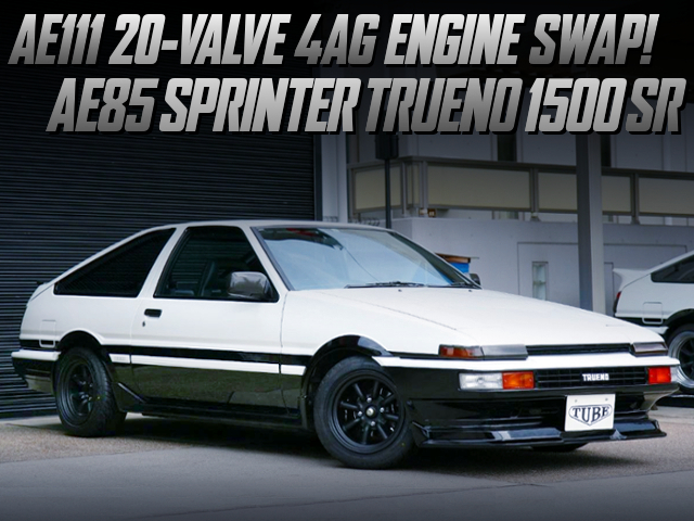 AE111 20V 4AG SWAP AND 5MT With AE85 TRUENO 1500SR
