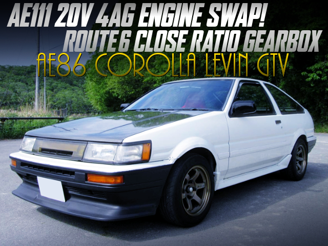 AE111 20V 4AG AND CLOSE-RATIO GEARBOX INTO AE86 LEVIN HATCH GTV.