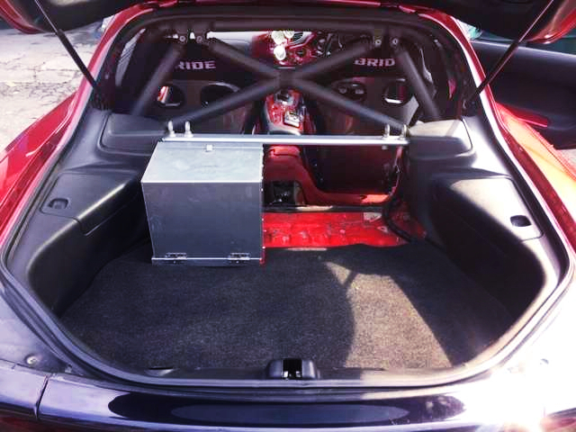 ROLL CAGE INSTALLED FD3S RX-7 INTERIOR.