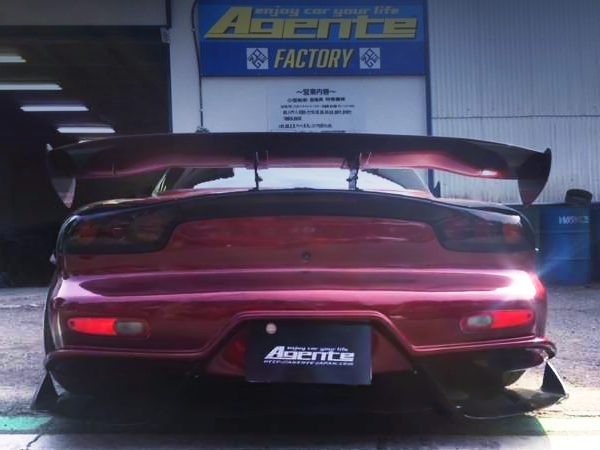 TAIL LIGHT OF FD3S RX-7 BN-SPORTS BLS WIDEBODY.