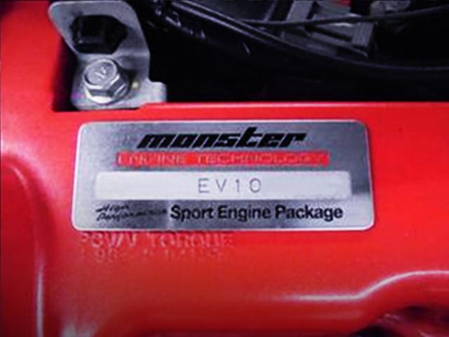 MONSTER SPORT ENGINE PLATE.