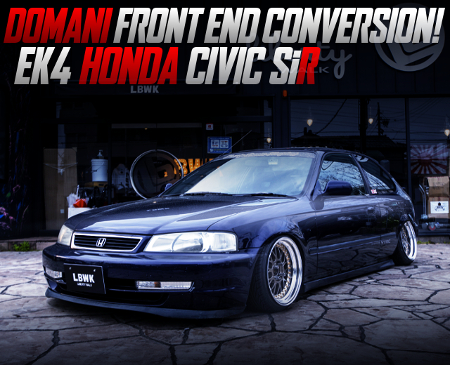 DOMANI FRONT END TO EK4 CIVIC HATCH SiR.