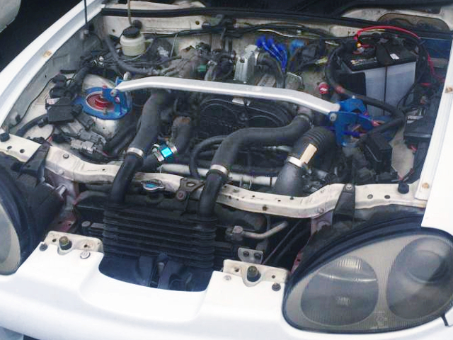 F6A TWINCAM TURBO ENGINE OF EA11R CAPPUCCINO MOTOR.