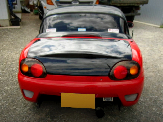REAR TAIL LIGHT OF EA11R CAPPUCCINO.