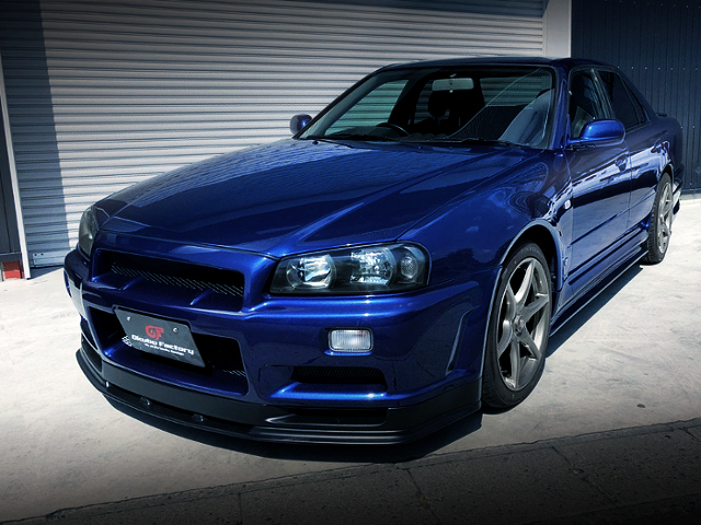 FRONT R34 GT-R FACE CUSTOM TO ER34 SKYLINE.