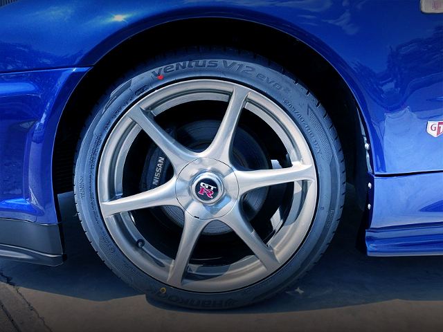 R34 GT-R GENUINE WHEEL.