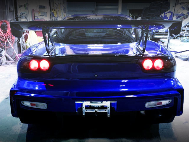 REAR TAIL LIGHT OF FD3S RX-7 TYPE-RS.
