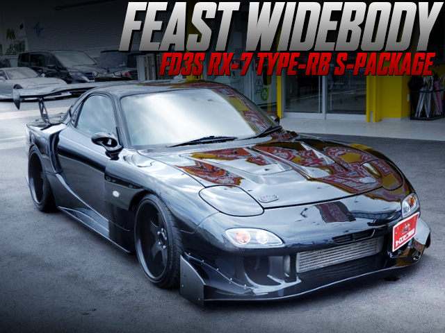 FEAST WIDEBODY INSTALLED FD3S RX-7 TYPE-RB S-PACKAGE.