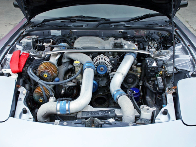 13B-REW TWINTURBO ENGINE OF RX-7 SPIRIT-R MOTOR.