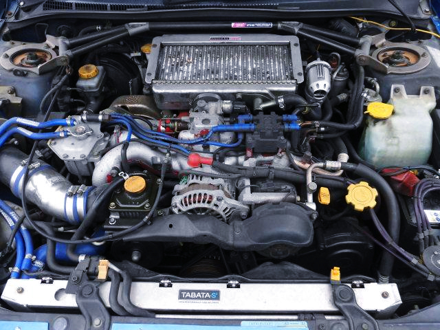 EJ207 BOXER TURBO ENGINE OF GC8 WRX RA STi Ver.6 LTD MOTOR.