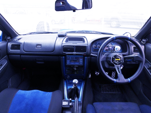 INTERIOR DASHBOARD OF GC8 WRX RA STI Ver.6 LTD.