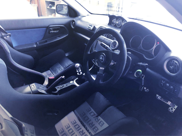 GDB WRX STI CUSTOM INTERIOR.