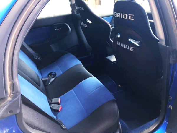 GDB WRX STI BACKSEAT.