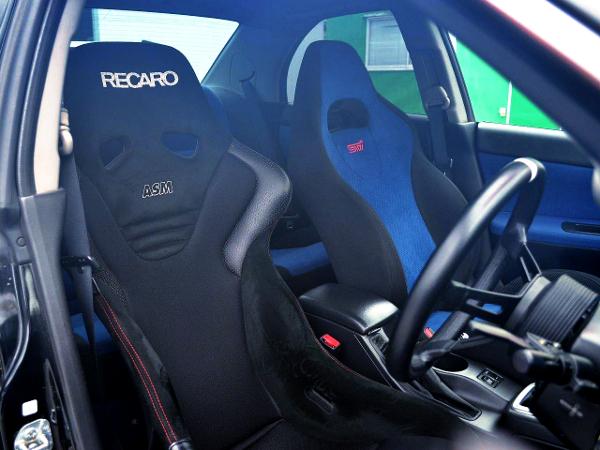 DRIVER'S RECARO ASM SEAT.