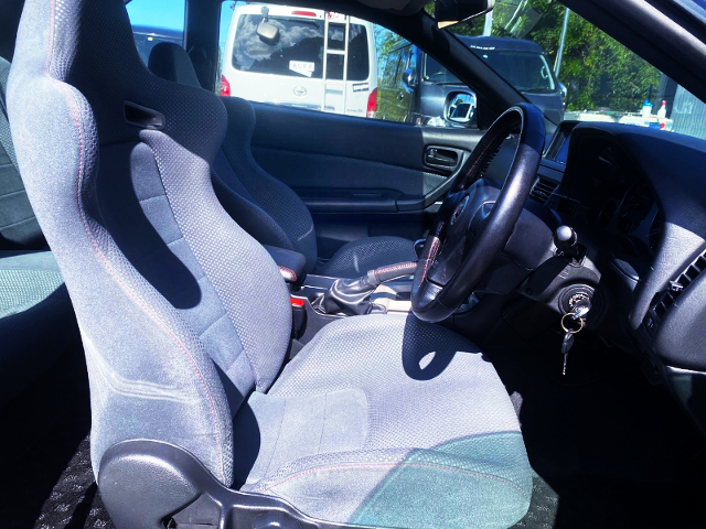 R34 GT-R INTERIOR.