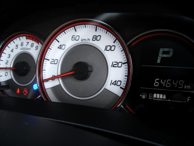 ALTO TURBO RS SPEED CLUSTER.